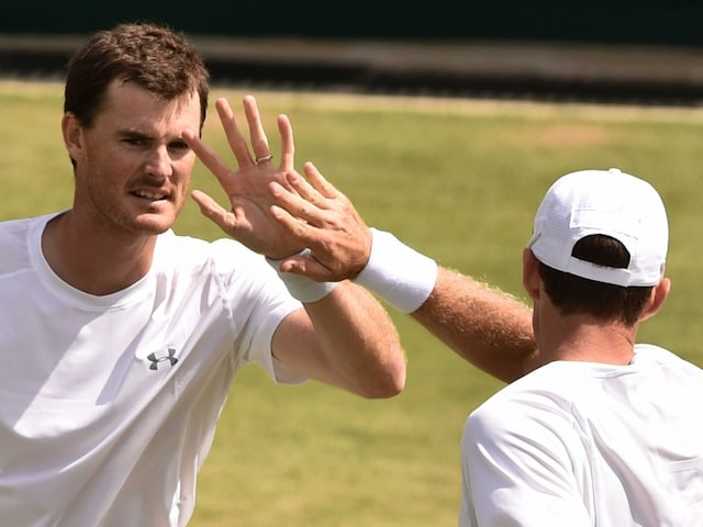 Andy Murrays Brother Jamie Through to Wimbledon Doubles Final