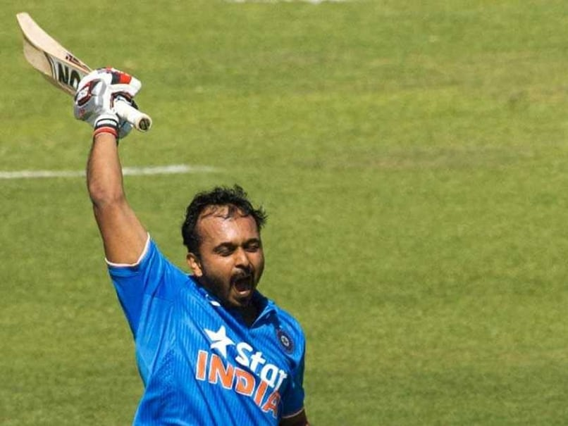 Kedar Jadhav Gives Selectors a Nice Headache with Maiden ODI Century
