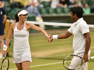 Wimbledon Mixed Doubles Final Highlights: Leander Paes-Martina Hingis Cruise to Title Triumph