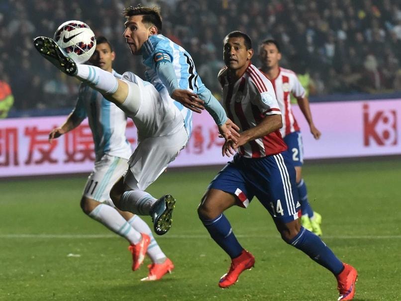 Paraguay vidare i copa america