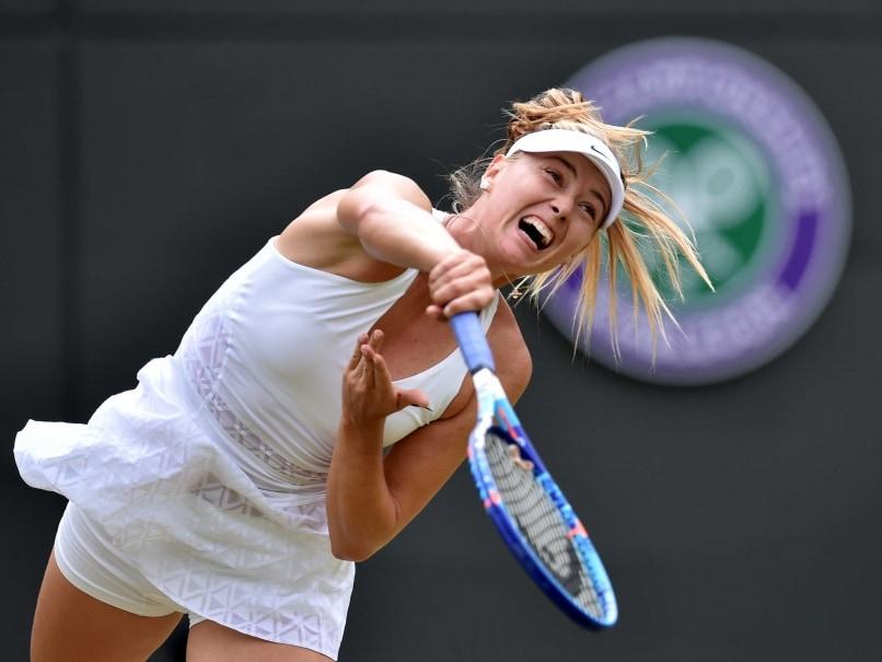 Maria Sharapova Endures Tough Test En Route Wimbledon Last Eight