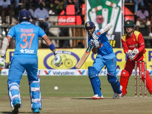 India in Zimbabwe: Ajinkya Rahane Lauds Batsmen After Crushing Win