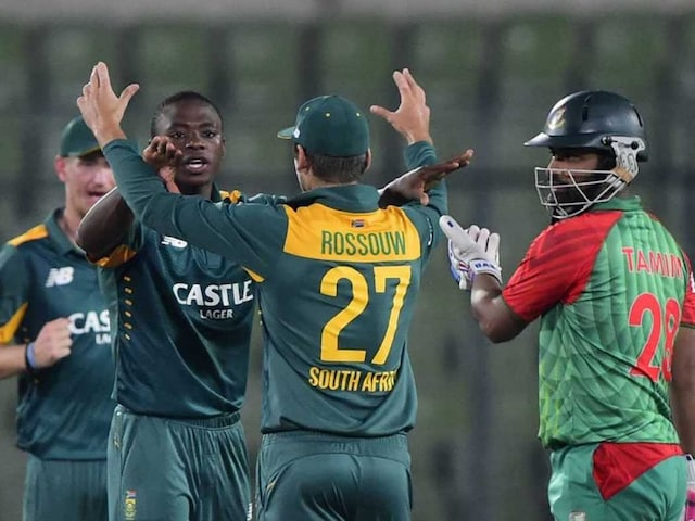 South Africa in Bangladesh: Rilee Rossouw Fined After Barging into Tamim Iqbal