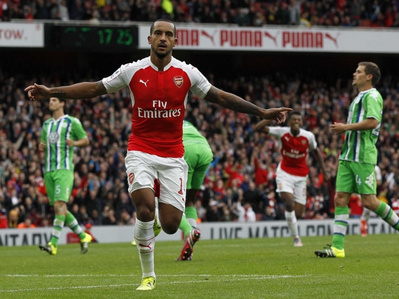 Theo Walcott Seals The Emirates Cup For Arsenal