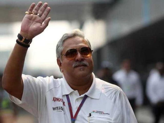 Vijay Mallya Says Life Must go on, in Public Appearance at British GP