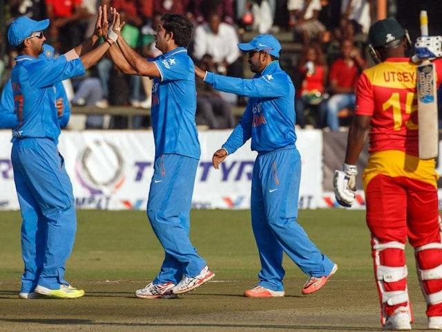 Zimbabwe Skipper Admits India Completely Outplayed Them