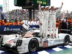 Force India's Nico Hulkenberg Wins Le Mans in Porsche One-Two