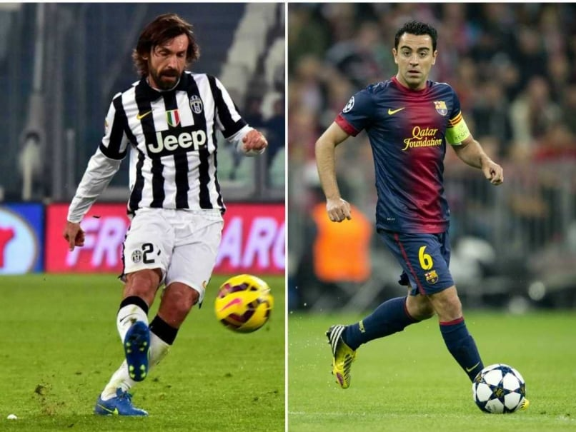 Andrea Pirlo - Xavi Hernandez Face-off Adds Lustre to Champions League Final
