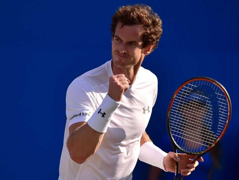 Andy Murray Survives Gilles Muller Scare to Make Queen