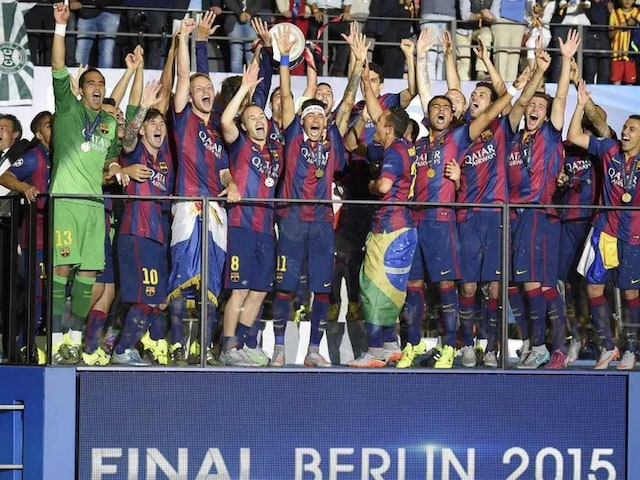 Champions League: Holders FC Barcelona Begin Defence at Roma