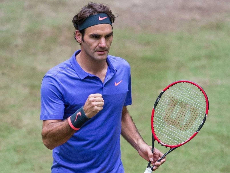 Roger Federer Through to Halle Final