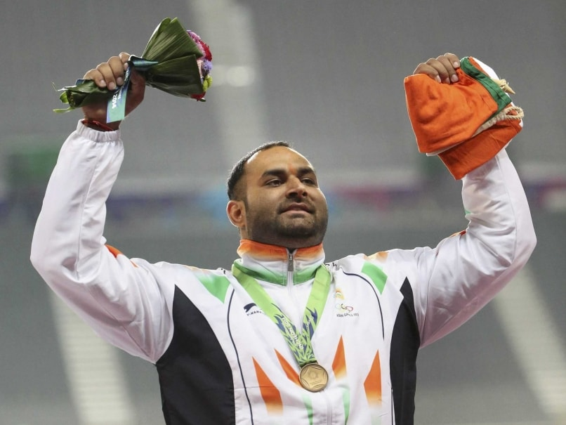 Inderjeet Singh Wins Gold in Shotput in Asian Athletics Championships