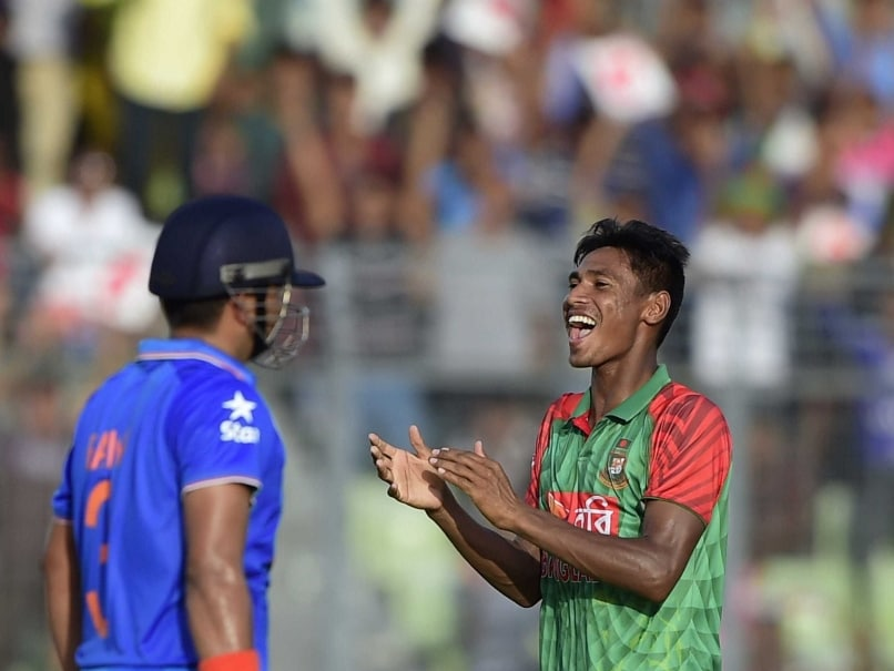 Mustafizur Rahman Destroys Indian Batting, Does an Encore of Fifers