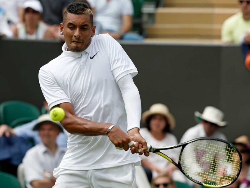 Wimbledon: Nick Kyrgios Back in Groove, Cruises to Easy Round 1 Win