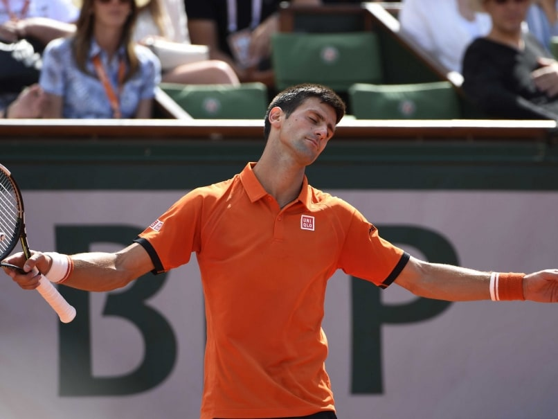French Open: Down A Set, Rain Saves Novak Djokovic