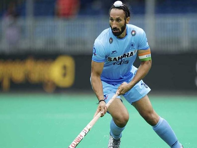 Sardar Singh Returns to Lead India in Six Nation Tournament