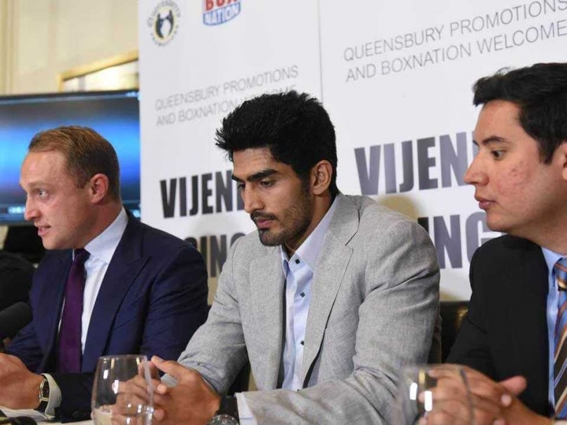 Vijender Singh Promises Fitting Reply to Sonny Whiting