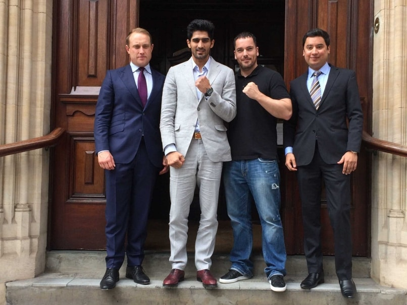 Vijender Singh Set To Make Professional Boxing Debut In September