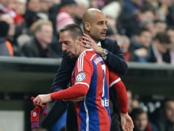Franck Ribery Describes His Ankly Injury as