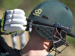 World Cup 2015: Australians Test Helmet 'Safety Guard' During Nets