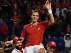 Vasek Pospisil Puts Canada Through Against Japan