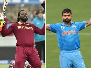India vs West Indies World Cup 2015: Focus on Virat Kohli, Chris Gayle in Battle of Champions