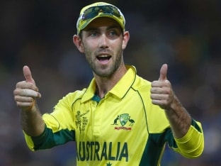 Glenn Maxwell Takes Remarkable Catch While Having Ice Cream