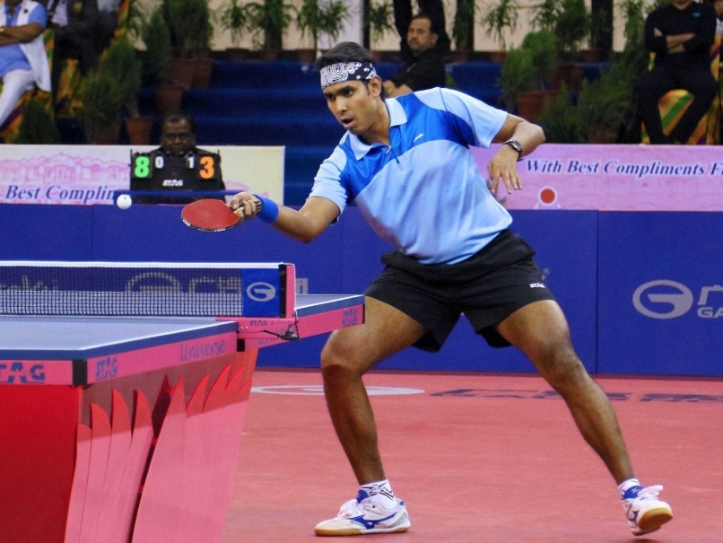 Sharath Kamal Retains Sixth Position in Asian Cup Table Tennis