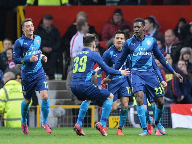 FA Cup: Danny Welbeck Winner Helps Arsenal F.C. Beat Manchester United F.C., Reach Semis
