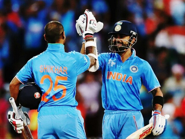 World Cup 2015: Dhawan Ton Helps India Beat Ireland by 8 Wickets to Register Ninth Consecutive Win