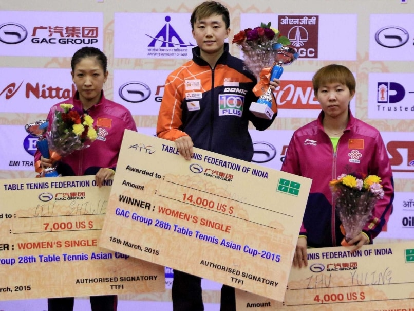 Asian champion women single final