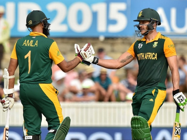 ICC World Cup 2015 Highlights: Amla, Du Plessis Hit Tons as South Africa Crush Ireland by 201 Runs