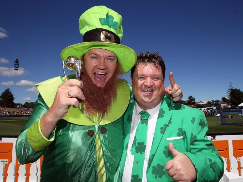 Ireland cricket fans