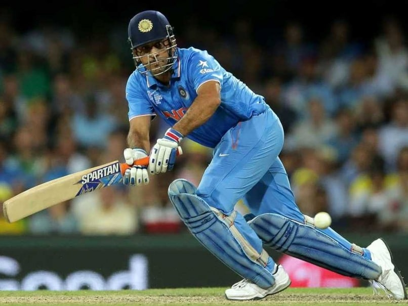 Mahendra Singh Dhoni Goes Down Fighting as India Exit World Cup