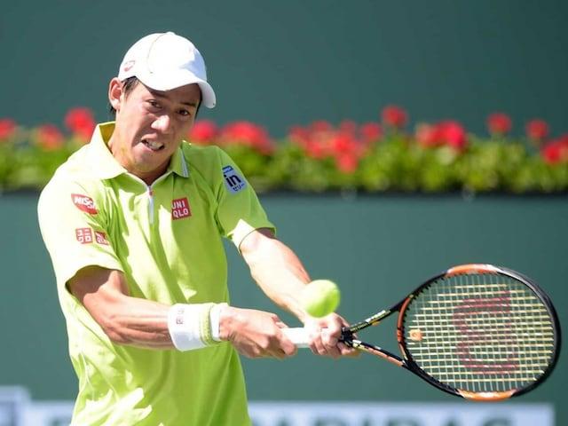 Japans Kei Nishikori Rolls Over Ryan Harrison at Indian Wells