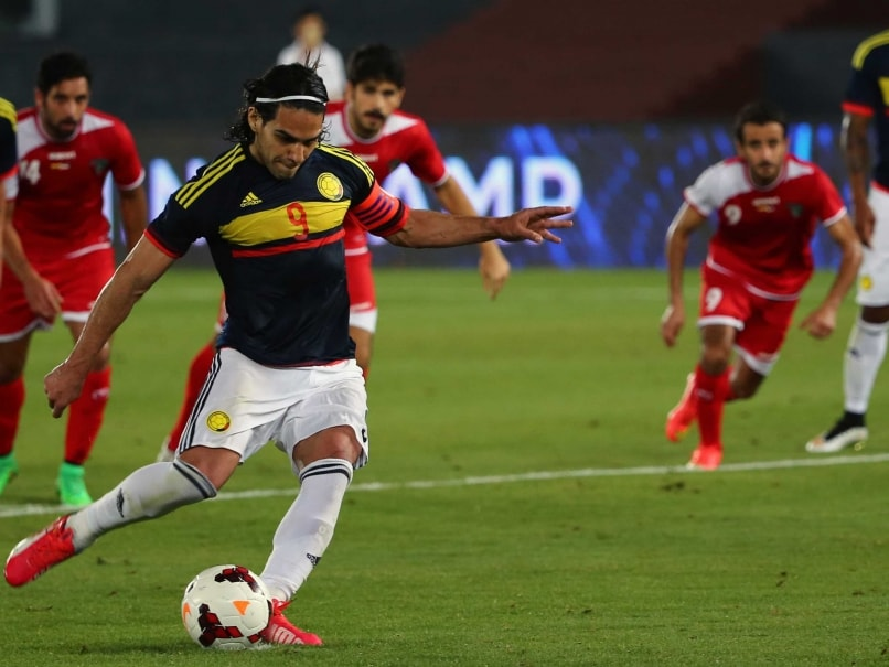 Radamel Falcao Becomes Colombia