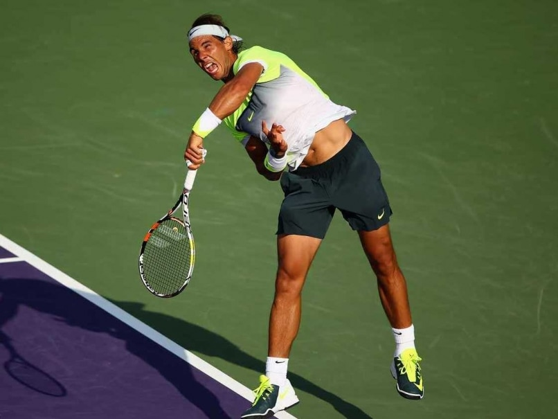 Rafael Nadal Wins Miami Opener, but Rain Sidelines Serena Williams