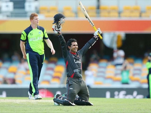 Shaiman Anwar, The Batting Prince of UAE in Cricket World Cup 2015