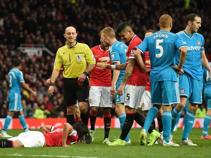 Wes Brown Red Card vs Manchester United not Mistaken Identity, Says Referee