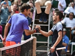 French Open: Roger Federer Delivers Bosnian Blues to Tennis Star Damir Dzumhur