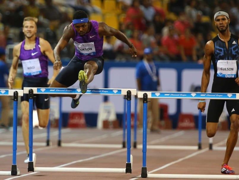 Bershawn Jackson Sets 400m Hurdles Diamond League Meet Record