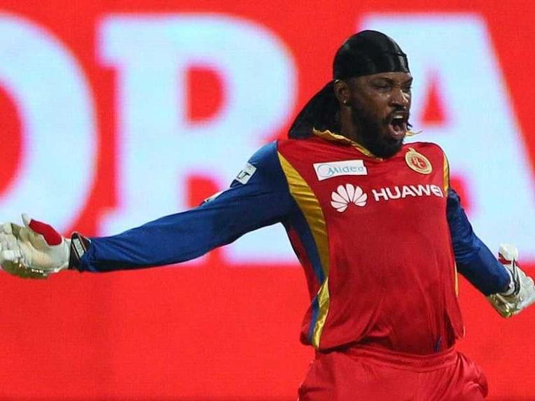 Chris Gayle Celebrations RCB v KXIP 2015 IPL