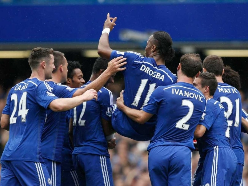 Didier Drogba Chaired off in Last Chelsea F.C. Game