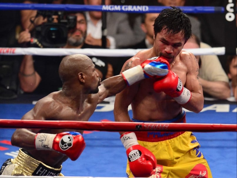 Manny Pacquiao Wants to Have a Rematch with Floyd Mayweather Before Hanging His Gloves