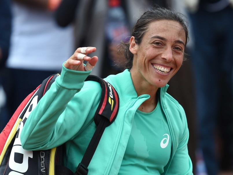 Francesca Schiavone Edges Svetlana Kuznetsova in French Open Marathon