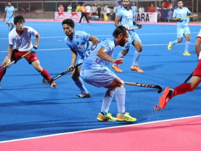 'Rusty' India Draw 1-1 vs Japan in First Hockey Test