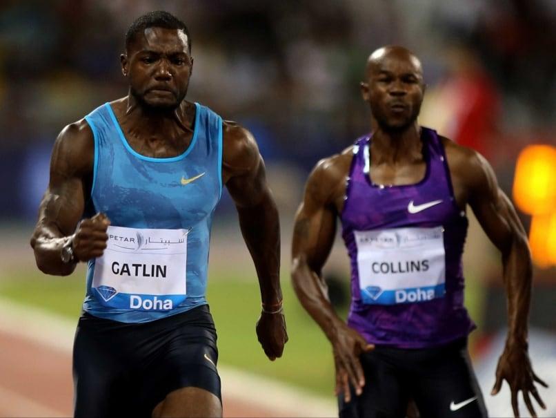 Justin Gatlin Clocks Personal Best to Win 100m at Doha Diamond League