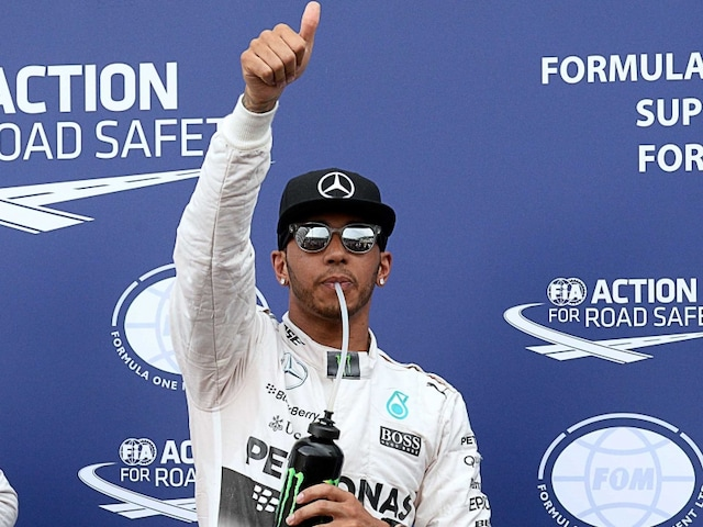 Lewis Hamilton Back on Top in Second Practice of Russian Grand Prix