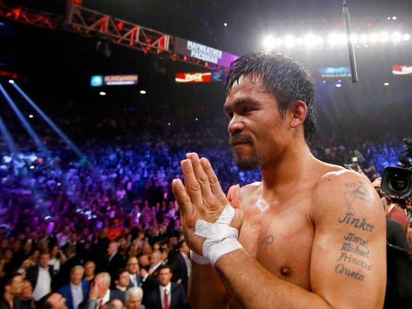 Manny Pacquiao To Promote Philippines
