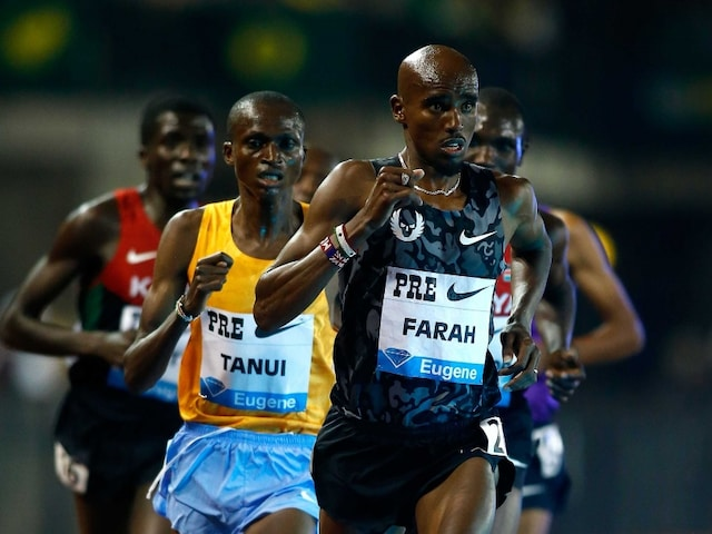 Mo Farah Beats Kenyan Paul Tanui to Win 10,000m at Eugene Diamond League